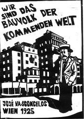 © Thomas Fatzinek José Vasconcelos in Wien, 1925