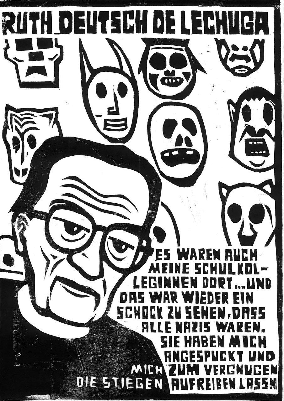 © Thomas Fatzinek Ruth Deutsch de Lechuga zwischen bösen Träumen und geliebten Masken